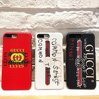 GG iPhone Phone Cover Case For iphone 7 7plus 8 8plus X XR XS MAX 11 Pro Max 12 Mini 12 Pro Max