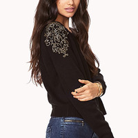Out West Cropped Sweater