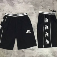 Nike quick sweat side side printing collusion shorts