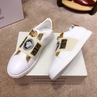 Versace  Fashion Women Men Casual Running Sport Shoes Sneakers Slipper Sandals High Heels Shoes