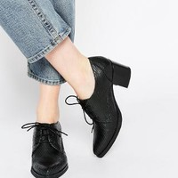 Bronx | Bronx Cobra Effect Mid Heeled Shoes at ASOS