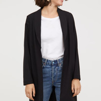 Long Jacket - Black - Ladies | H&M US