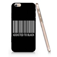 Amazon.com: Addicted To Black Slim Iphone 6 Plus Case, Clear Iphone 6 Plus Hard Cover Case For Apple Iphone 6 Plus-Emerishop: Cell Phones & Accessories