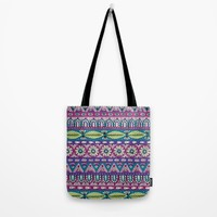 Detailed Stripes Tote Bag by Sarah Oelerich
