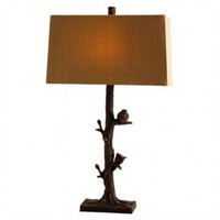 Jeffan Lamps Sedona Mosaic Table Lamp in Brown - LM-2227B Size: - Lamps - Lighting