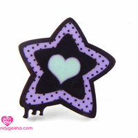 Melty Star ring mint-candygeisha