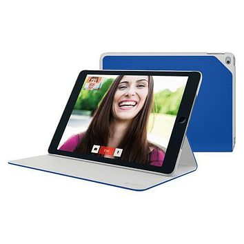 Logitech Hinge Flexible Protective Case for iPad Air 2 w/Any-Angle Stand - Blue