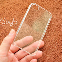 """Blank or clear DIY iPhone 4 and iphone 4s case : """" 1 Piece """""""