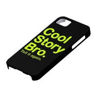 Cool Story Bro. iPhone 5 Case from Zazzle.com