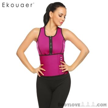 Neoprene Sauna Vest Body Shaper Slimming Waist Trainer