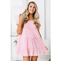 Simply Intricate Babydoll Style Dress