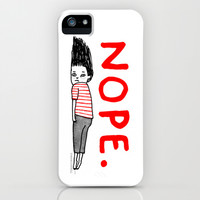 That January Feeling iPhone & iPod Case by Gemma Correll
