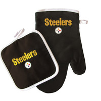 Pittsburgh Steelers Oven Mit & Pot Holder