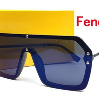 FEND Cat Eye Sunglasses Women Brand Designer Luxury Crystal Sexy Sun Glasses For Ladies sunglasses for mens