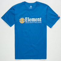 Element Horizontal Men T-Shirt Royal  In Sizes