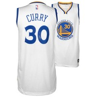 Autographed Golden State Warriors Stephen Curry Fanatics Authentic White
