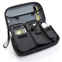 USA Gear Large GPS Navigation Travel Case - Works With Select 4.3-Inch to 5-Inch Garmin Nuvi , Magellan Roadmate , TomTom GO Live GPS Navigators & Accessories - Holds Unit , Chargers , Holders , Mounts , Manuals & More!