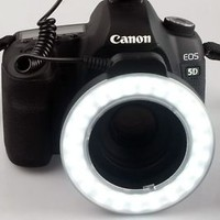 NEW HOT C48LED Macro Ring  LED Camera Light Adapter Ring for Camera