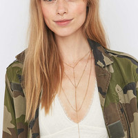 Layer Chain Statement Necklace - Urban Outfitters