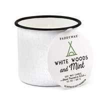 White Woods and Mint 9 oz. Alpine Candle
