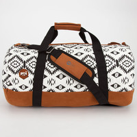 Mi-Pac Native Duffle Bag Black/White One Size For Men 24284312501