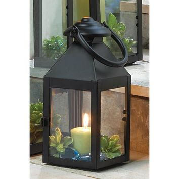 Colonial Style Candle Lantern - 9 inches