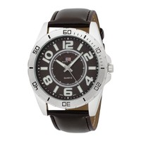 U.S. Polo Assn. Classic Men's US5163 Brown Dial Brown Strap Watch