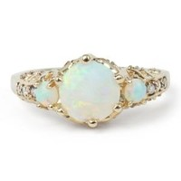 Catbird :: shop by category :: JEWELRY :: Ceremonial Ring, Opal