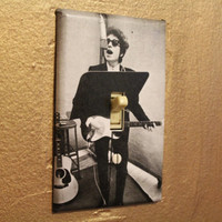 Bob Dylan Light Switch Cover Plate