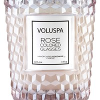 Rose Colored Glasses Classic Textured Candle