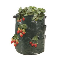 Strawberry Planter Outdoor Vertical Garden Plant Wall Hanging Planting Bag