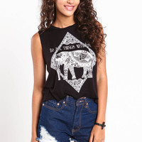 ALL THINGS WITH LOVE MUSCLE TANK