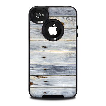 The Light Tinted Wooden Planks Skin for the iPhone 4-4s OtterBox Commuter Case