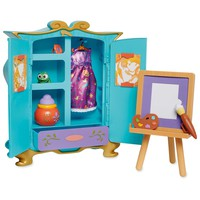 Disney Animators' Collection Rapunzel's Artist Armoire Playset New with Box