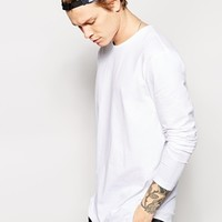 ASOS Longline Skater Long Sleeve T-Shirt