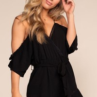 Lulu Off The Shoulder Romper