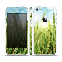 The Sunny Wheat Field Skin Set for the Apple iPhone 5