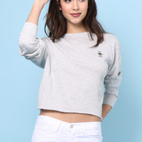 Sunday Stevens Be Nice Embroidered Pullover
