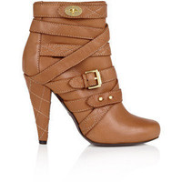 Mulberry Postmans Lock Ankle Boot - Polyvore