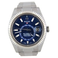 Rolex Sky-Dweller 326934 Stainless Steel Blue 42mm Watch