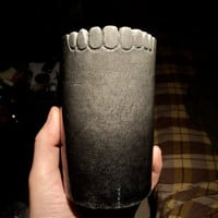 scary tooth cup by AdamJWaddell on Etsy