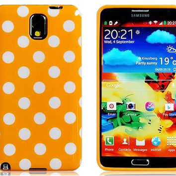Polka Dot TPU Case for Samsung Galaxy Note 3