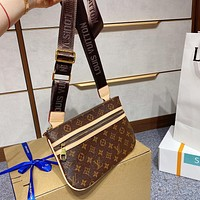 Louis Vuitton LV new style foreign fashion all-match handbag simple one-shoulder messenger bag