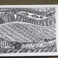 Zentangle Card