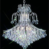 Premier - Hanging Fixture (15 Light Modern Hanging Crystal Chandelier) - 4403D25