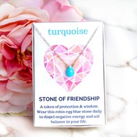 Turquoise Healing Jewel Necklace