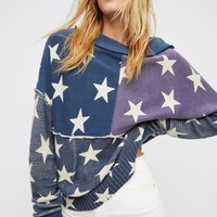Free People Stars and Stripes Pullover