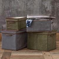 Northfield Canvas Bins