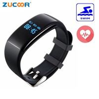 Pulseira Swim Smart Wrist Band Waterproof Bracelet Heart Rate Watch Sport Activity Health Fitness Tracker For iOS Android Phone