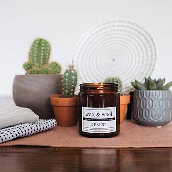 Desert - 9 oz Pure Soy Wax Candle